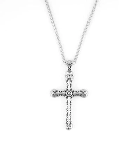 Stainless Steel Tribal Cross