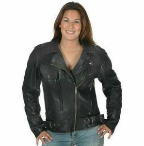 Ladies Leather Motorcycle Jacket ( Brando ) 2588.00