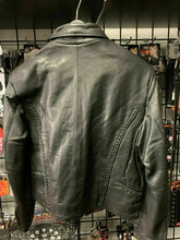 Load image into Gallery viewer, Ladies Braided Leather Jacket