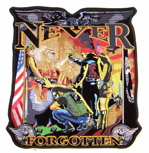 Large Never Forgotten Military Patch