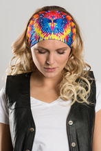 Load image into Gallery viewer, Ladies EZ Bandz By Hair Glove Bling Tie-Dye Butterfly
