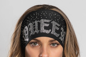 Ladies EZ Bandz By Hair Glove Bling Queen