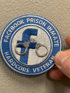 Facebook Prison Inmate Patch