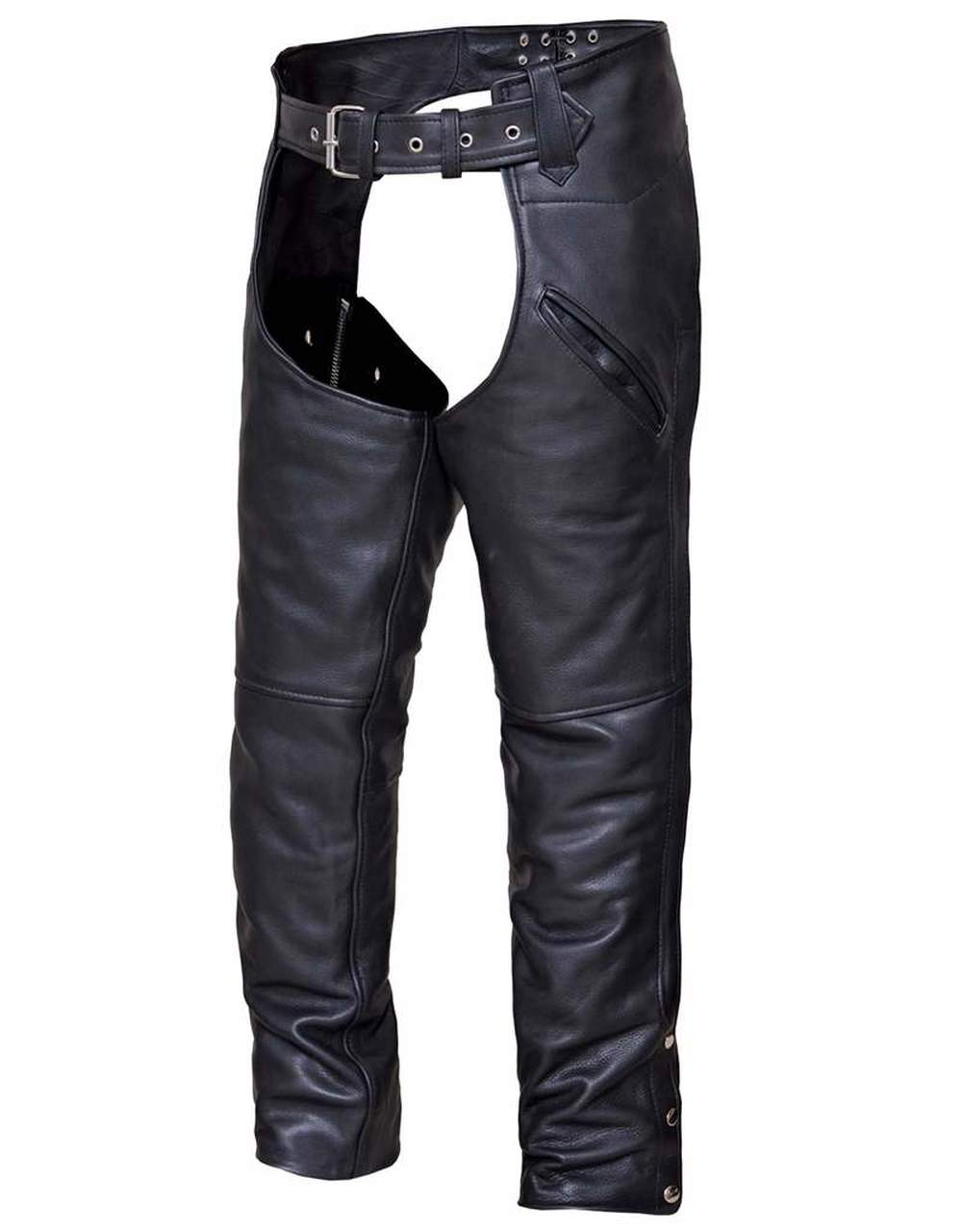 Unisex Leather Motorcycle Chaps 7102.VL  ( Best Selling Chaps )