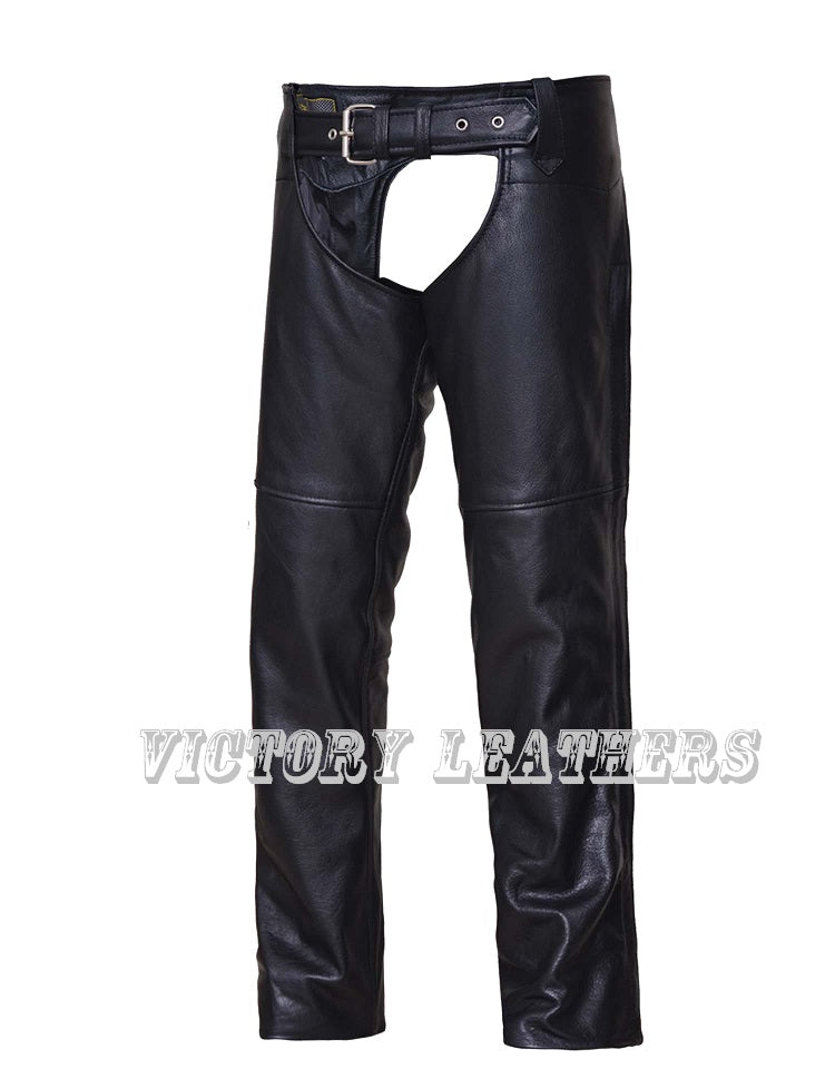 Women's leather Chaps with Back Thigh Lace Adjustment 7154.00
