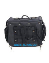 Load image into Gallery viewer, Motorcycle Sissy Bar Bag 9324.PL ( Removable Inner Cooler ) Plain or Studded