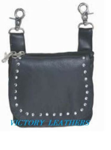 Women's Black Studded Hip Bag 9728.00