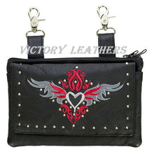 Load image into Gallery viewer, Women's Leather Hip Belt Loop Bag ( Multi Colors ) BAG35-EBL1