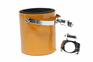 Orange Motorcycle Cup Holder