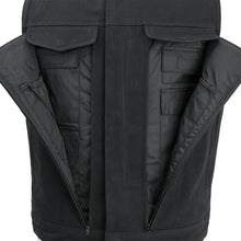 Load image into Gallery viewer, Men's Canvas Motorcycle Vest ( FAIRFAX ) FIM633CNVS
