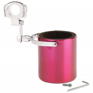 Pink Stainless Steel Motorcycle Cup Holder