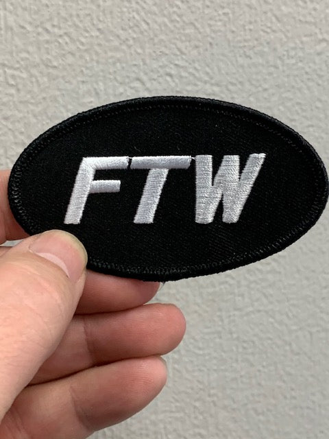 Black & White FTW Patch
