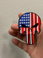 USA Flag Punisher Patch