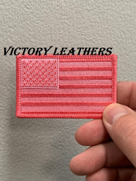 Pink American Flag Patch