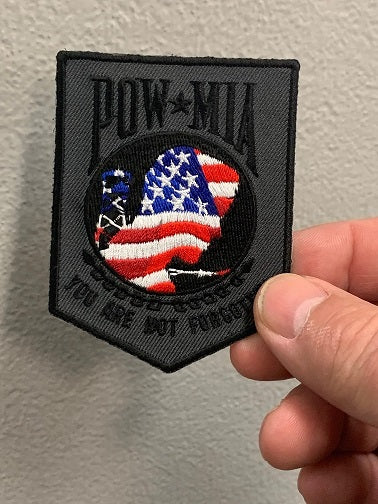 POW-MIA You are not forgotten Patch ( FLAG )