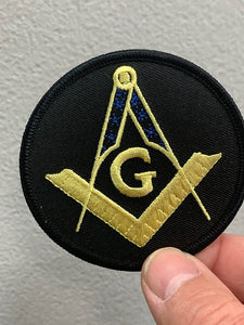 Masonic G Patch