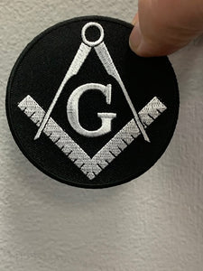 Masonic G with Compass ( Multi Colors )