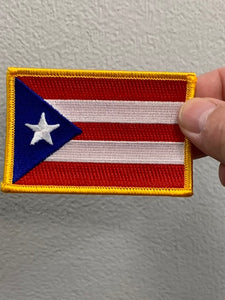 Puerto Rico Flag Patch