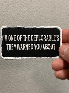 I'M one of the Deplorables Patch