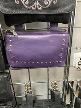 Load image into Gallery viewer, Women's Purple Belt Loop Hip Bag 9701.17