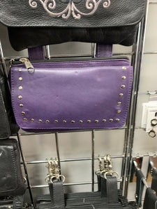 Women's Purple Belt Loop Hip Bag 9701.17