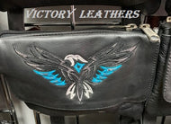 Women's Leather Hip Bag with Phoenix Bird of it ( MULTI COLORS )