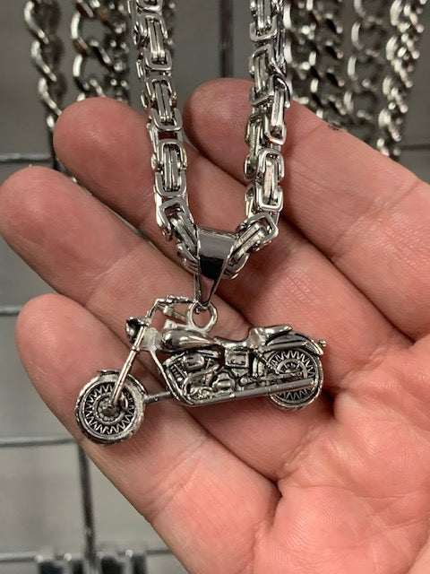 Stainless Steel Motorcycle & Chain