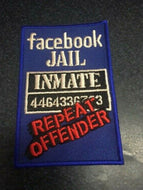Facebook Jail Inmate Patch