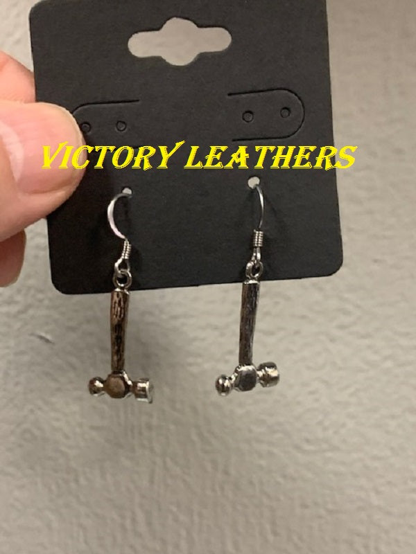 Ballpin Hammer Dangling Earrings USA MADE