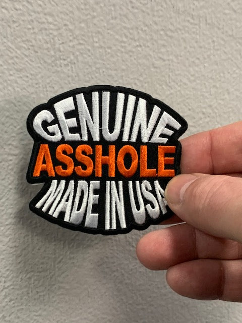 Genuine Asshole Made In USA Funny Naughty