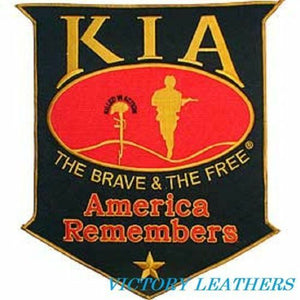 Large KIA America Remembers Patch