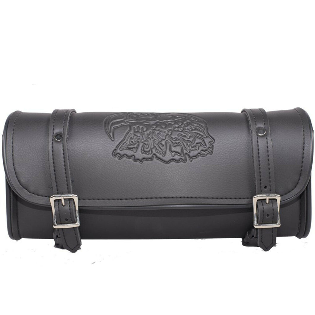 PVC Motorcycle Tool Bag with Embossed Eagle ( Multi Size Available  )