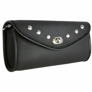 PVC Studded Motorcycle Windshield Bag WS12