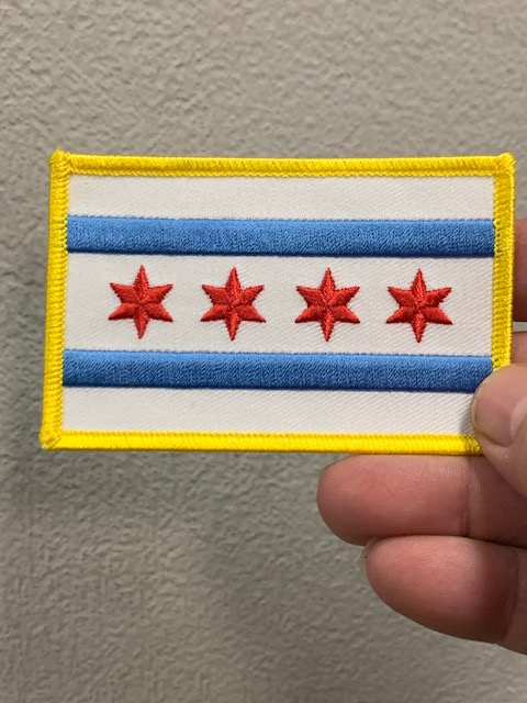 City of Chicago Flag Patch