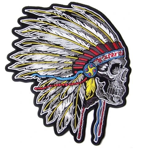 Large Indian Chief Patch