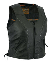 Load image into Gallery viewer, Women's Lightweight Vest with Rivets Detailing DS241