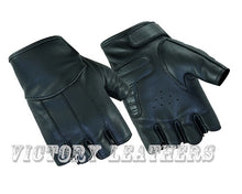 Load image into Gallery viewer, Daniel Smart Mfg Women's Leather Fingerless Gloves DS3
