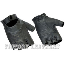 Load image into Gallery viewer, Daniel Smart Mfg Women's Leather Fingerless Gloves DS8