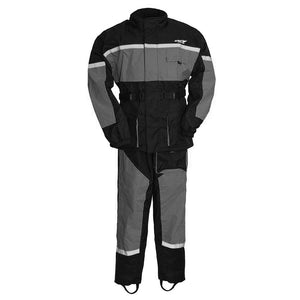 First Mfg Men's Motorcycle Rain Suit Multi Colors ATM3003
