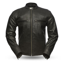 Load image into Gallery viewer, Men's Leather Jacket ( TURBINE ) FIM213CNP