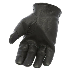 First MFG Men's Neoprene / Black Leather Gloves ( ROPER ) FI217