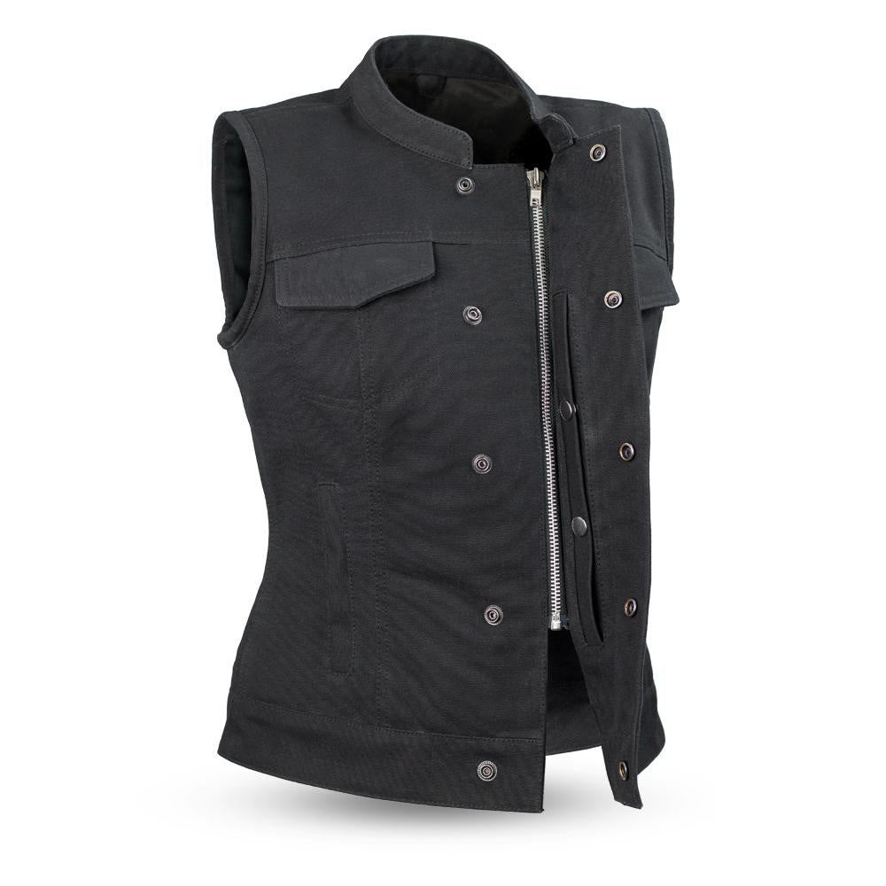 Women's Canvas Vest ( LUDLOW ) FIL516CNVS