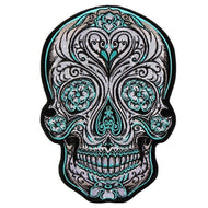 Antique Sugar Skull Large Patch