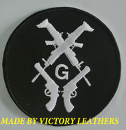 Masonic Patch with Guns 3