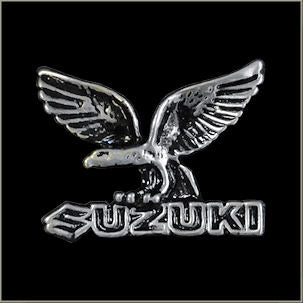 Eagle Suzuki Biker Pin