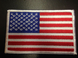 "American Flag Patch 3.5"" x 2.25"""