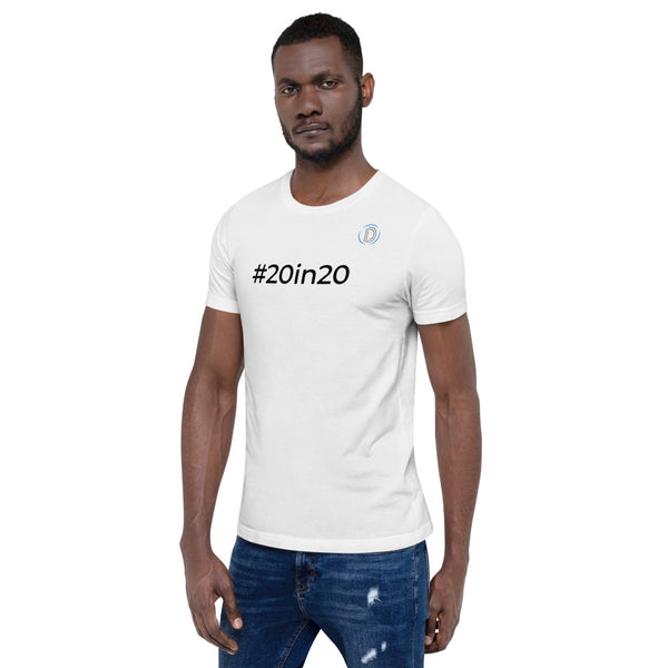 #20in20 Challenge Deanin Short-Sleeve Unisex T-Shirt