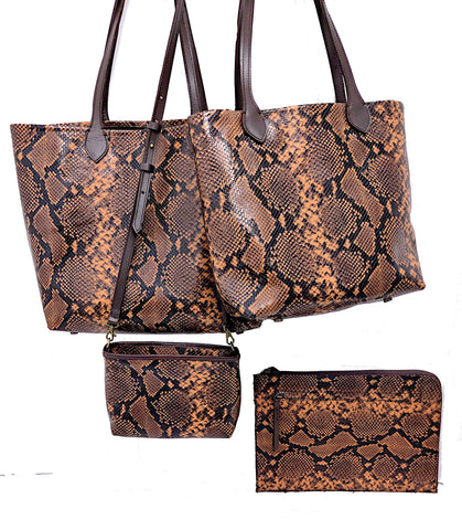 4 American Copperhead bags #3000, #4650, #3333 xbody and #313 Portfolio