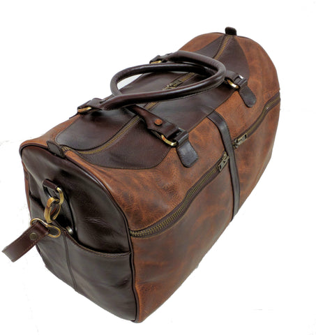 5514 Duffel in American Buffalo - Bison - Distressed look