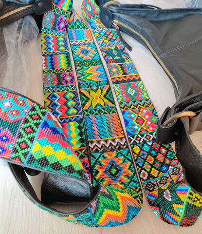 Beadwork varies slightly from bag to bag No two will be exactly alike